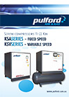 Pulford KSA-KSV Screw Compressors 11-22Kw
