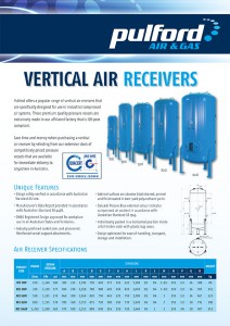Pulford 2013 Vertical Air Receivers