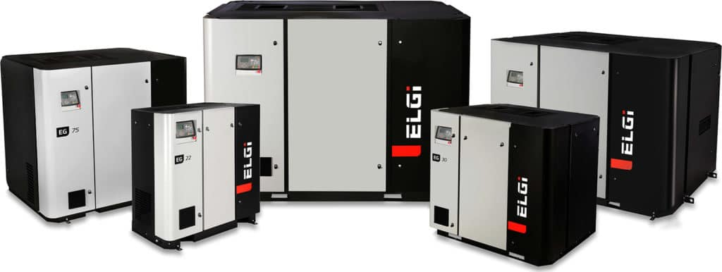 ELGi EG Variable Speed Compressors Product Family